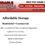 Affordable Storage - A Curtis Smeltzer Graphic Design Job!